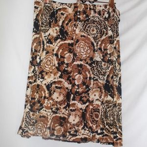 {CATO} Printed Maxi Skirt Size XL